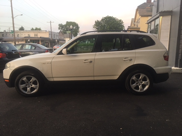 bmw-x3-white-drivers-side-exterior-view