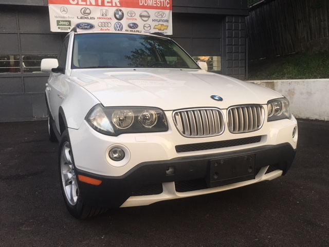 bmw-x3-white-passenger-side-front-angled-view
